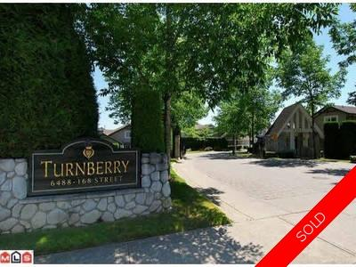 Cloverdale Townhouse for sale: Turnberry 3 bedroom 1,639 sq.ft. (Listed 2018-05-01)